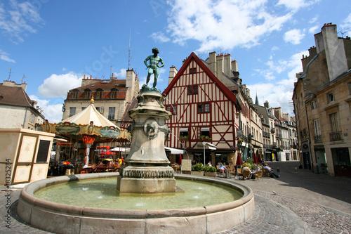 Leinwanddruck Bild Dijon, France