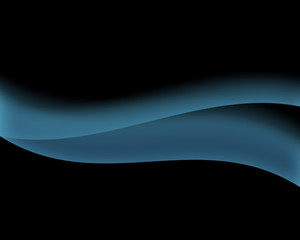 Abstract Wallpaper with blue waves
