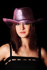 femme au chapeau 01