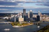 Fototapety Downtown Pittsburgh, Pa