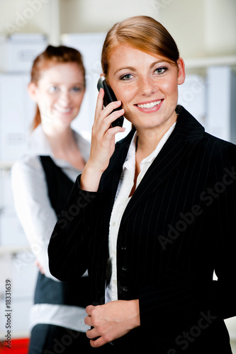 Caucasian Businesswomen