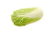 Cabbage Peking isolated on white background poster