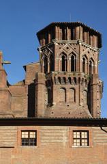 Clocher du musée des Augustins de Toulouse