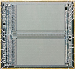 Macro of a memory chip