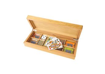 playing cards, box set