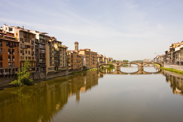 Arno Bridge in Distance