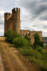 Ehrenfels castle on the Rhein river