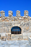Fortification: Venetian castle (Koules), in Crete, Greece poster