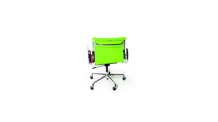 office chair - spinning arround - shifting colours