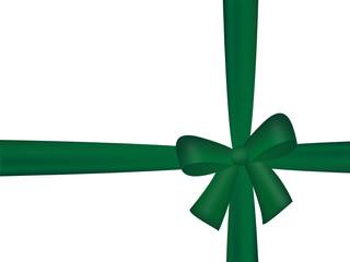 grüne schleife, geschenksband