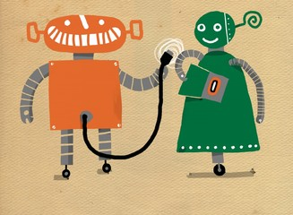 Robots enamorados