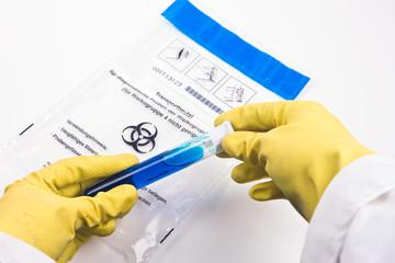 Probenanalyse im Biolabor