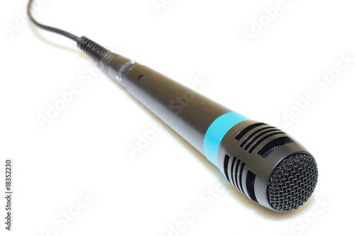 microfono con ombra