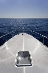 ITALY, Lazio, Tirrenian sea, luxury yacht Alfamarine 60'