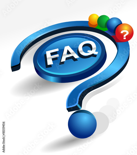 frequently asked questions vector icon by Tasosk, Royalty ...