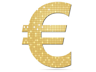 golden euro icon