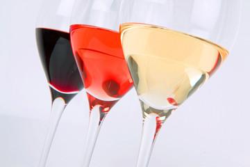3 Sorten Wein