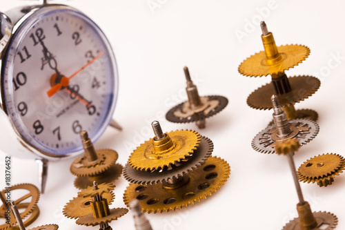 Clock and Gears