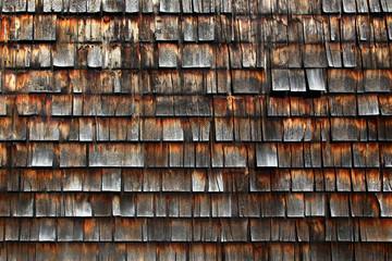 Textur-Serie: Holzschindeln Detail