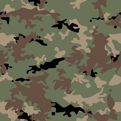 Army military camouflage seamless pattern