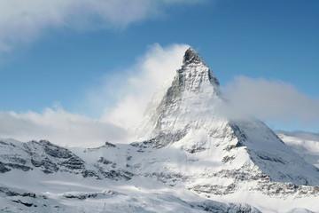 Matterhorn in the mist