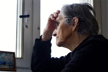 thinking of grandmother