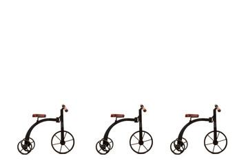 tarjeta bicicleta antigua fondo blanco