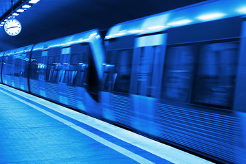 Metro station blueprint