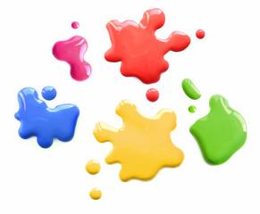 Color spots callouts