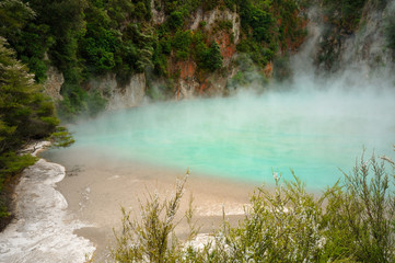 Inferno Crater, Waimagu Volcanic Valley, NZ