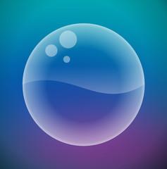 Water's Sphere Bubble