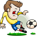 Soccer Player Cartoon