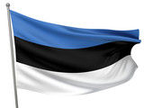 Estonia National Flag poster