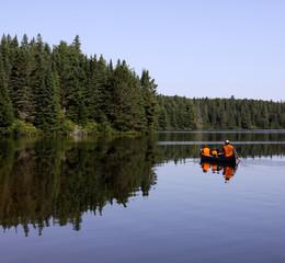 Paddling in Pog Lake
