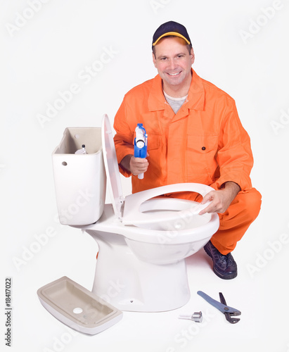 plumber mounted toilet bowl