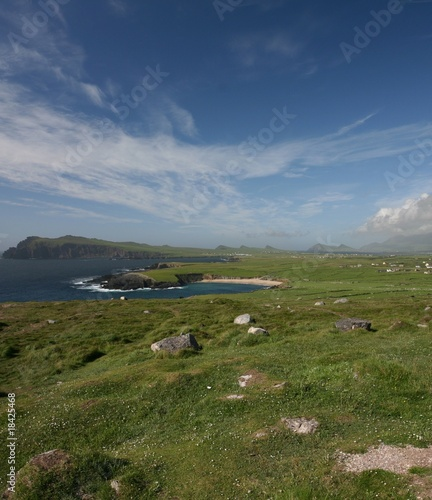 Halbinsal Dingle in Irland, Panorama