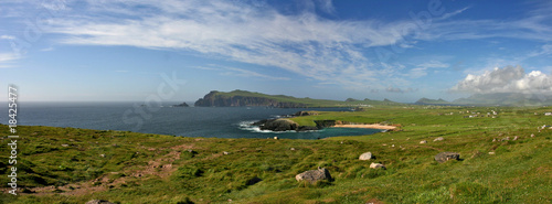 Halbinsal Dingle in Irland, Panorama 2