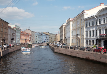 View of St. Petersburg, Russia