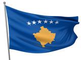 Kosovo National Flag poster