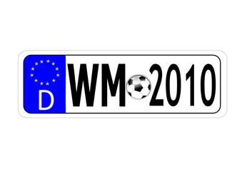 fussballweltmeisterschaft 2010 illustration