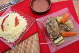 Couscous - légumes et viande