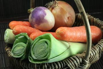 Légumes pour le pot au feu