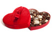 Hearat Shaped box with Candy - 18465446