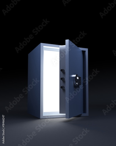 light from a safe