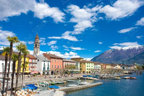 Canvas Alpen Ascona
