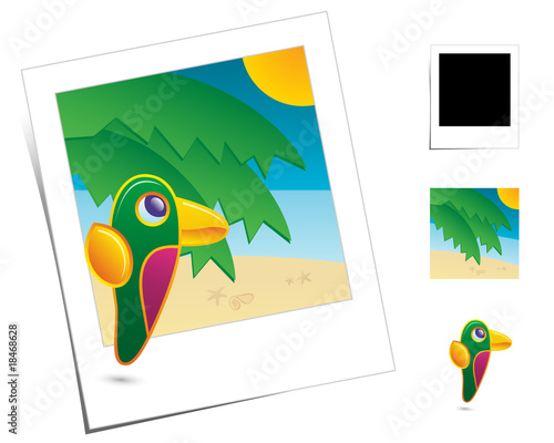 Animal Scenes / Holidays Parrot