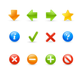 Gel Icon Set - 2 / Navigation
