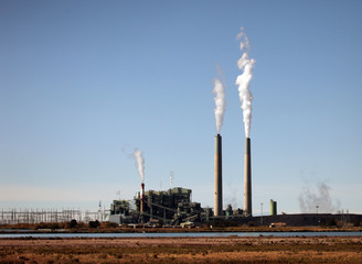 Polluting Industrial Plant
