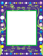 Party Background Border