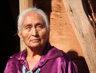 Beautiful 77 year Old Elderly Navajo Woman